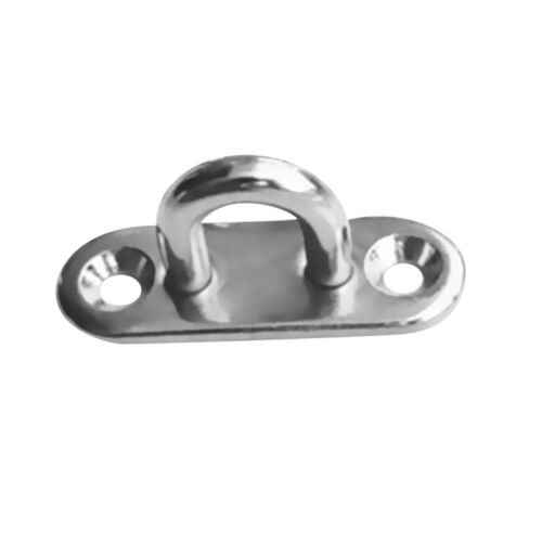 316 Stainless Steel No Rusting Pad Eye Plate Padeyes Marine Boat Fitting 9mm