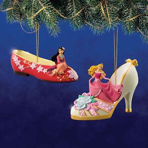 Hawthorn Disney Once Upon a Slipper #12 Sleeping Beauty Aurora & Mulan Set NEW
