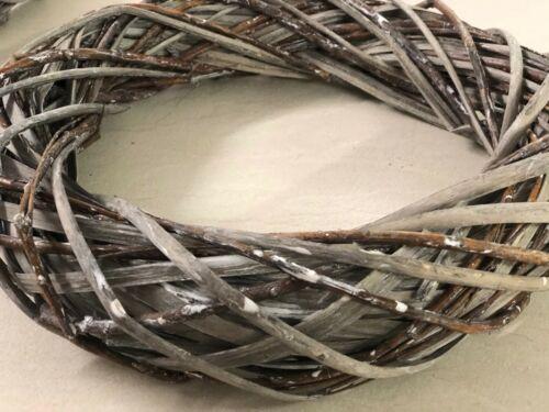 FIORISTI forniture 45cm CORONA VIMINI GRIGIO Arts /& Crafts