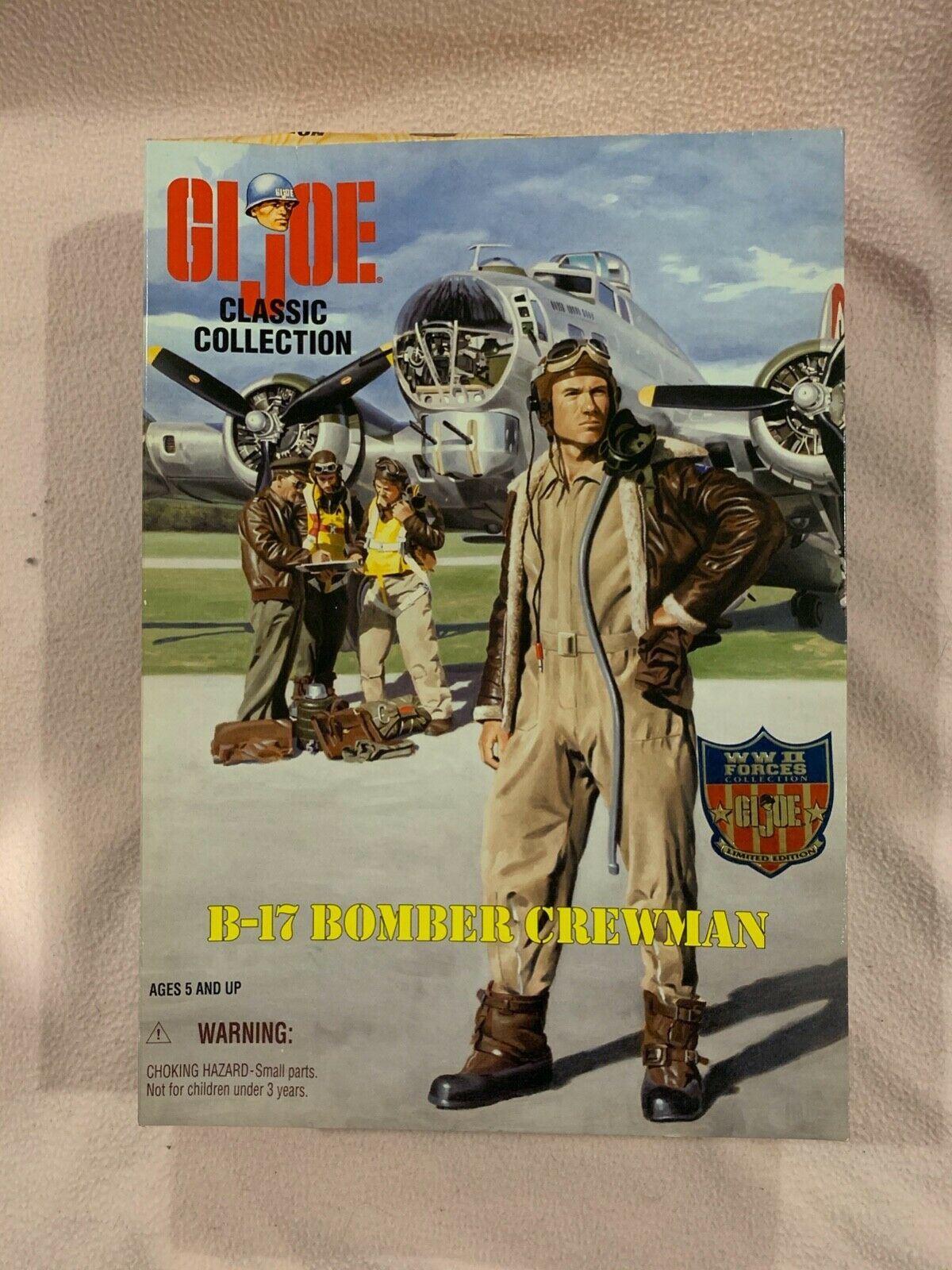 1//6 Scale GI Joe B-17 Bomber Crewman Insulated Boots