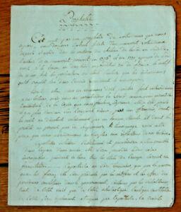 RARE-1736-prophecy-not-nostradamus-original-SWISS-manuscript-notebook-4pp