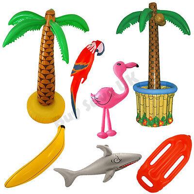 Inflatable Flamingo Fancy Dress Party Prop Hawaiian Summer Luau Hawaii