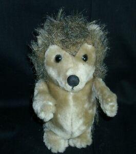 8 Vintage 1982 Dakin Hickory The Baby Hedgehog Brown Stuffed Animal