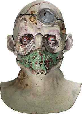 Dr. Death Mask Zombie Doctor Surgeon Scary Halloween Adult Costume Accessory