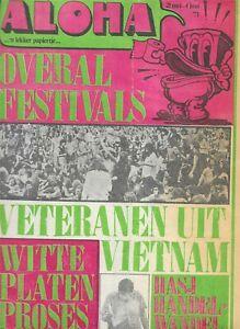 ALOHA NUMBER 2 1971 - R. CRUMB - VIETNAM - HOLLAND UNDERGROUND MAGAZINE