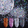2g BORN PRETTY Holo Nail Sequins Glitter Powder Mix Size Hexagon Nail Flakies
