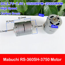 Mabuchi RS380-SH-4535 6V 16700rpm High Speed DC Motor RC Model DIY Toys Parts
