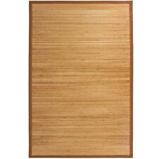 Bamboo Area Rug Carpet Indoor Outdoor  5' X 8'  100% Natural Bamboo Wood  N