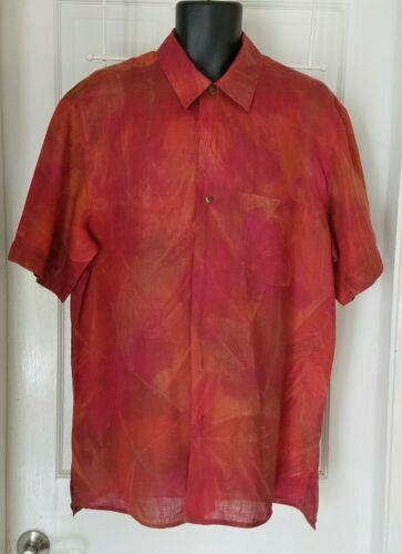 Gran Sasso Mens Linen Casual Shirt