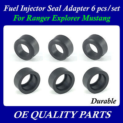 6 pcs of set for Ford 4.0L V6 Pickup SUV F77Z9G512AA Fuel Injector Seal Adaptor