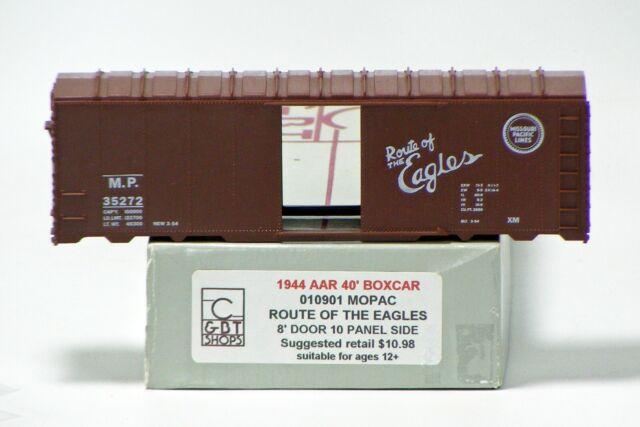 "Athearn HO  Missouri Pacific /""Eagle/"" 40/' Box Car New"
