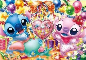 200 Piece Jigsaw Disney Lilo Stitch Joyeux Anniversaire 22 5x32cm Ebay