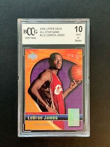 2004-Upper-Deck-All-Star-Game-Lebron-James-Rookie-2004-Bccg-10-For-Charity