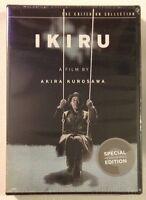 Ikiru Akira Kurosawa - Criterion - Mint Sealed Dvds -