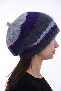 90e22d378e0 Image is loading Hand-knit-Chunky-BEANIE-Hand-made-Slouchy-Beanie-