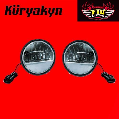 Kuryakyn Phase 7 L.E.D Passing Lamps H-D 05-17/' Touring 2247