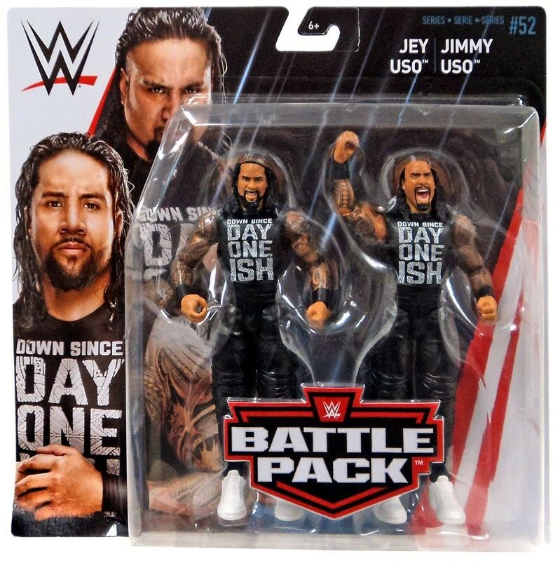WWE wrestling SERIE 52 Jey Uso & Jimmy Uso azione cifra 2Pack