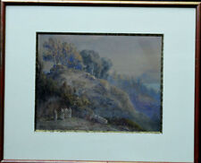 PIERRE GIRARD 1806-1872 OLD MASTER FRENCH PAINTING CLASSICAL ITALIAN  LANDSCAPE