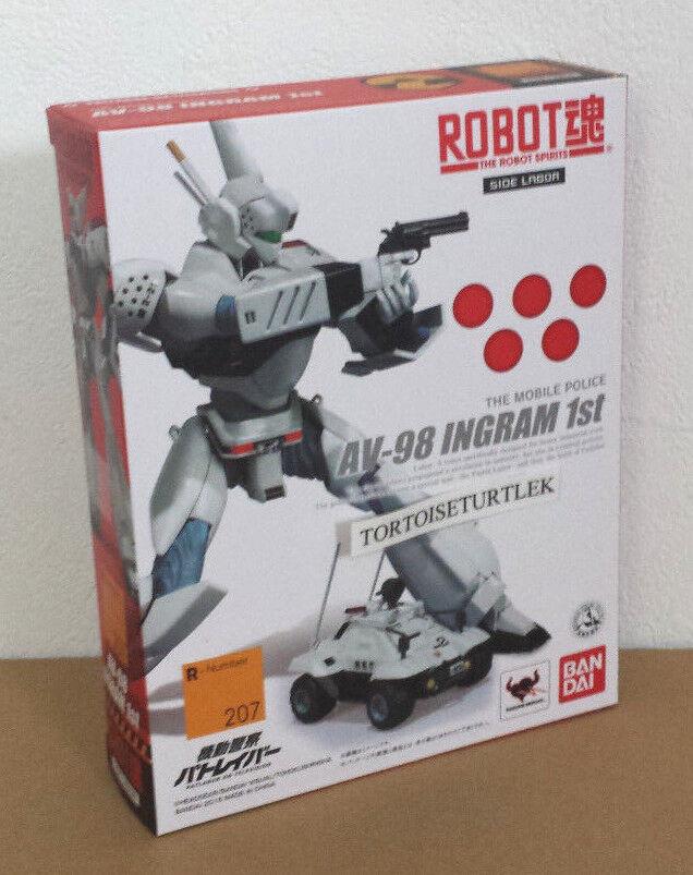 BANDAI Robot Spirits móvil de la policía Patlabor el trabajo Ingram 1 Figura De Acción