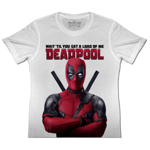 KIDS Deadpool Movie T Shirt Avengers Marvel Boys Girls Iron Man Thor Hulk Movie
