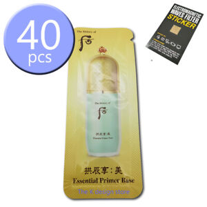 The-history-of-Whoo-Gongjinhyang-Mi-Essential-Primer-Base-1ml-x-10-40pcs-2gift
