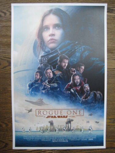 """- B2G1F Star Wars T3 Rogue One 11/"""" x 17/"""" Movie Collector/'s Poster Print"""