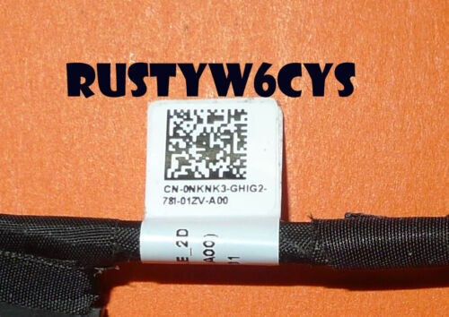 Genuine Dell Vostro 7570 Battery Connector Cable DC02002VW00 DC02002UP00 NKNK3
