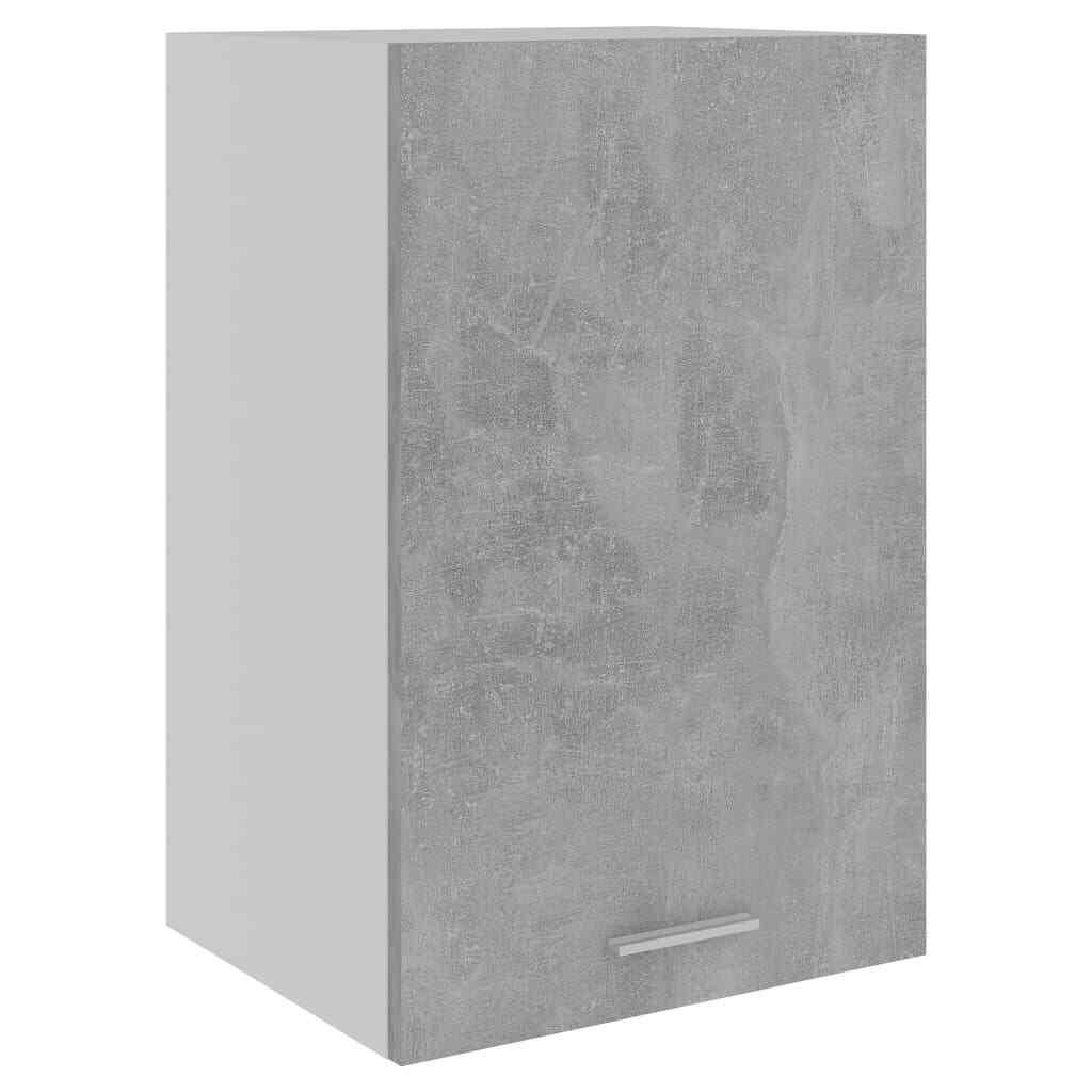 vidaXL Armario de Cocina de Aglomerado Gris Hormigón 39,5x31x60 cm Mobiliario