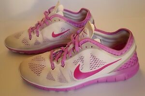 Details about Nike Free 5.0 Tr Fit 5 Breathe Womens 718932 101 Fuchsia Training Shoes Size 9.5