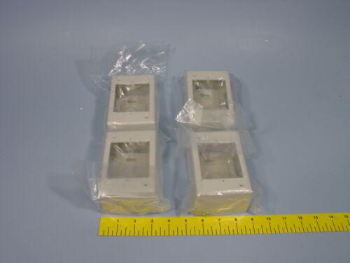 "4 MultiLink MJB-1-OW Single Gang DEEP Surface Mount Junction Box 3-1//4/"" X 5/"" X 2"