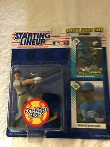 Starting Lineup 1993 extended Benito Santiago Marlins Figure