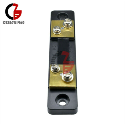 10//20//30//50//100A Current DC 75mV FL-2 Shunt Resistor For Ammeter Amp Panel Meter