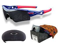 Oakley Radar Path Braves Sunglasses Polished Blue_red_black Iridium 09-782
