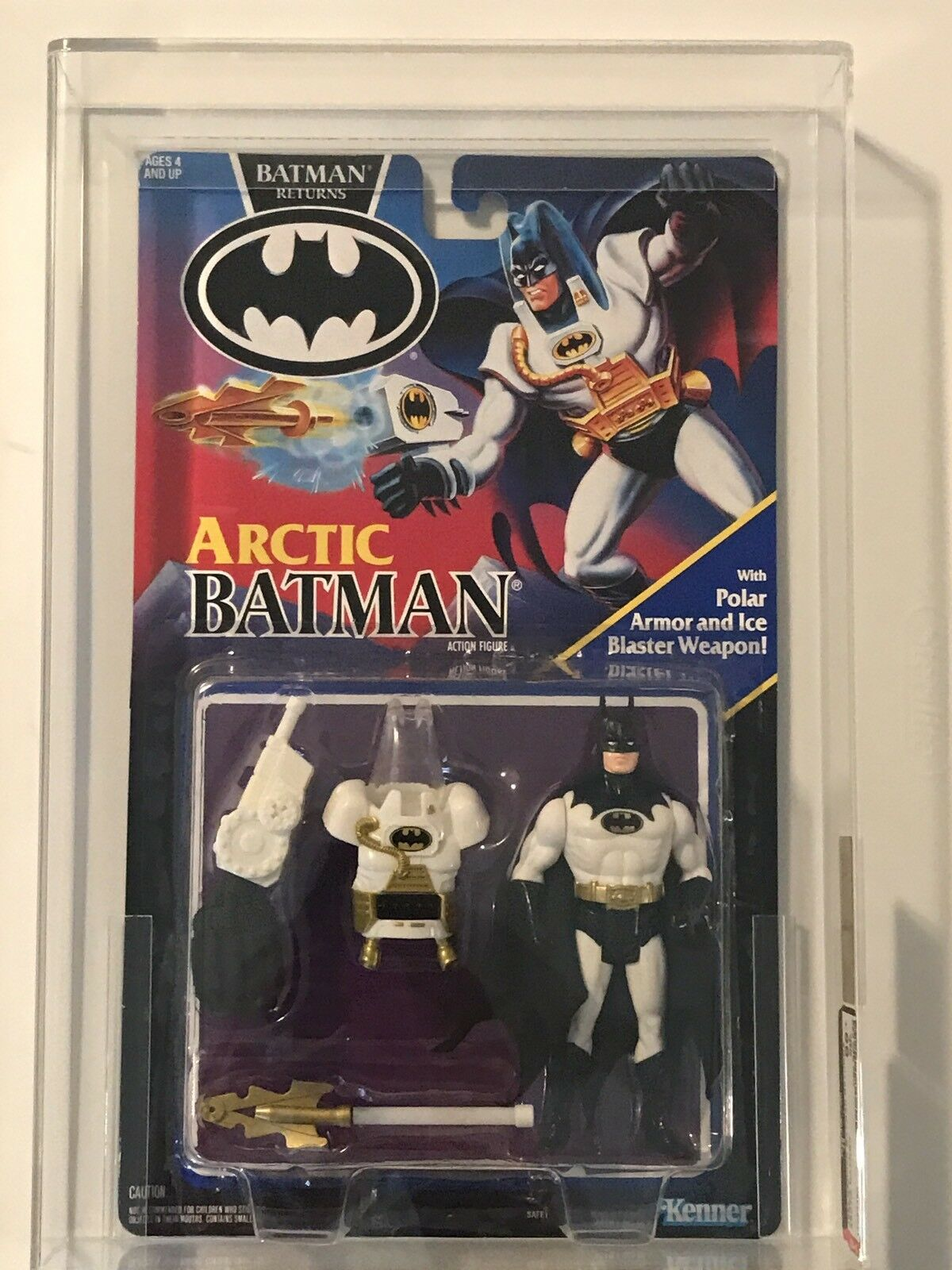 Kenner ARCTIC Batman Returns kvalitetrad AFA 85 NM DC Comics 1992