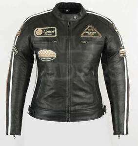 Veste-En-Cuir-Moto-Femme-Vintage-Cafe-Racer-Leather-Jacket-Blouson-Rocker