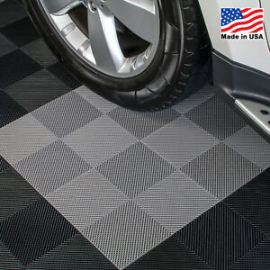 Garage Tiles | Perforated Tiles Gray - Made In the USA