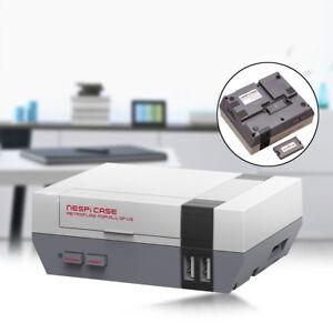 Mini Retroflag NESPi NES Style Etui Cas Boîtier Coque Pour Raspberry Pi 3, 2, B+