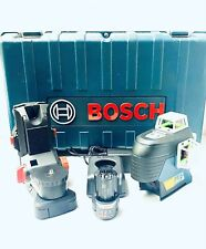 Bosch Gll3 330cg 360 Degrees 3 Plane Green Beam Self Leveling Line Laser