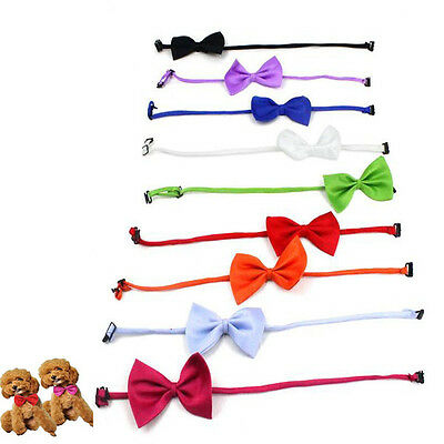 Lovely Adjustable Dog Cat Bowknot Necktie For Wedding Party Good Hot AU4 GT