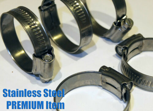 jubilee type Stainless Steel Hose Clips Pipe Clamps British Type 304ss