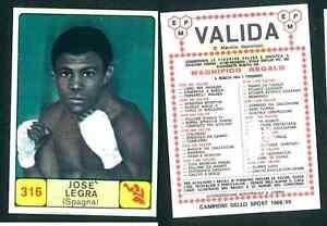 Jose-Legra-Spain-Campioni-dello-Sport-1968-69-Ed-Panini-Valida-VG-n-316