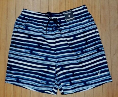 NEW with Tags NAUTICA Mens Swim Trunks Board Shorts ~SZ MED