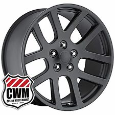 22 inch 22x10 OE Performance 107SB Dodge Ram SRT-10 Satin Black Wheels Rims