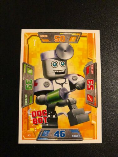UK English Choose Your Own Card New Lego Nexo Knights S1 Trading Cards