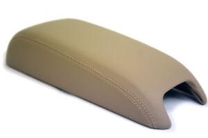 Fits 11-18 Dodge Journey Faux Leather Armrest Center Console Cover  Black