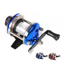 Right Hand Ice Fishing Reel Drum Reel Lightweight Small Compact Design Metal