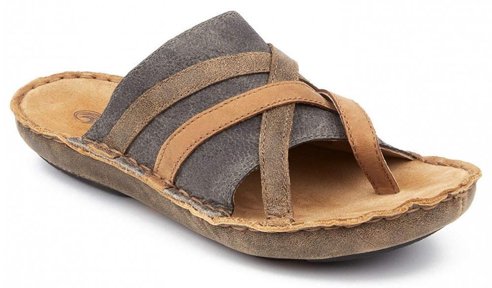 Tamarindo Sanddollar Sandal Women's Leather Softbed Flip Flop