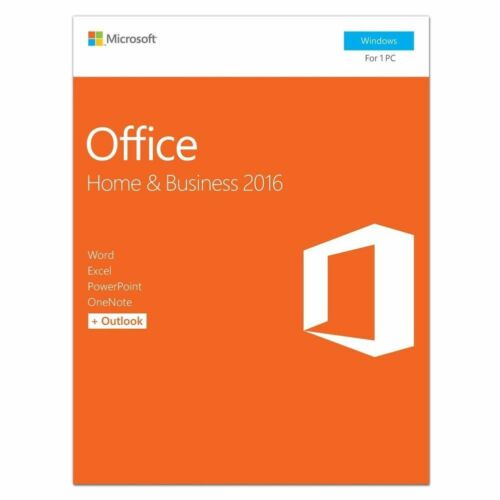 Microsoft Office 2016 Home and Business Windows  1 User Retail Product Key