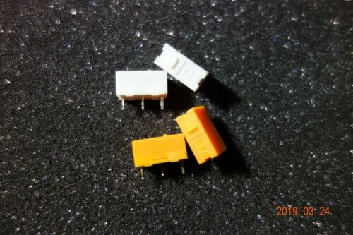 2 Silver Micro Switch Microswitch for Mouse Mice 20//30 Million Time 2 TTC Gold