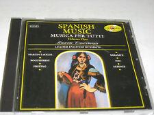 MUSICA PER TUTTI Volume One SPANISH MUSIC Moscow Concertino Evgueni Bushkov Musi